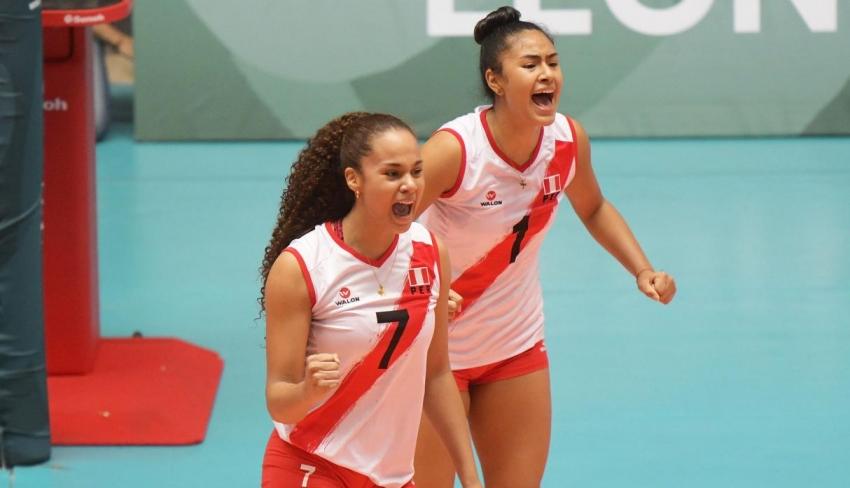 Perú venció 3-2 a China en un reñido partido por el Mundial de Vóley Sub 20 México 2019