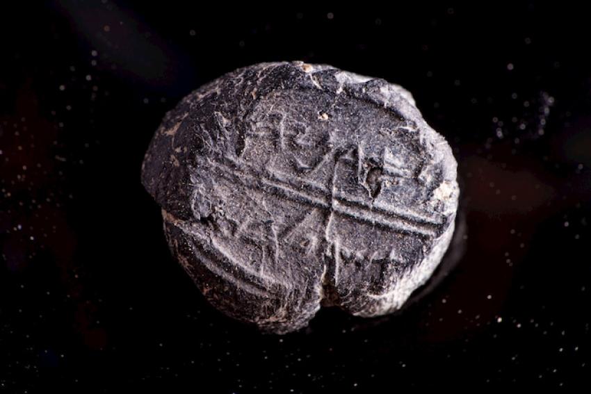 Descubren en Jerusalén un sello de la época del Templo con el nombre de una figura bíblica