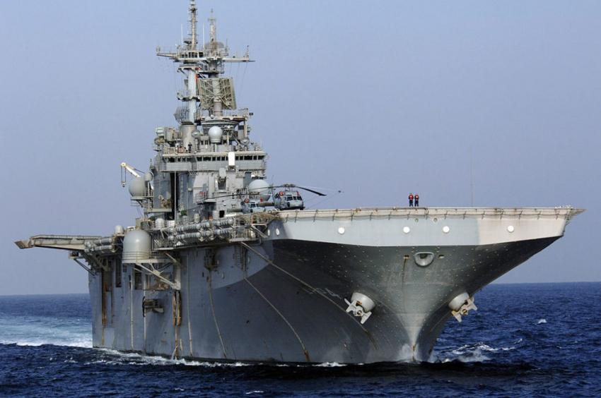EEUU derribó un dron iraní en el Estrecho de Ormuz