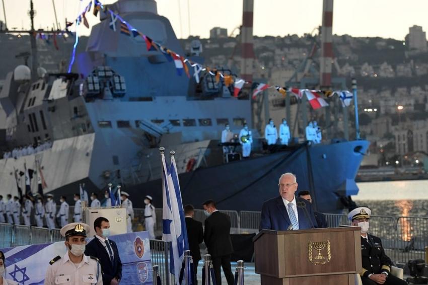 La llegada de los barcos Sa'ar 6 marca la evolución de la doctrina naval israelí