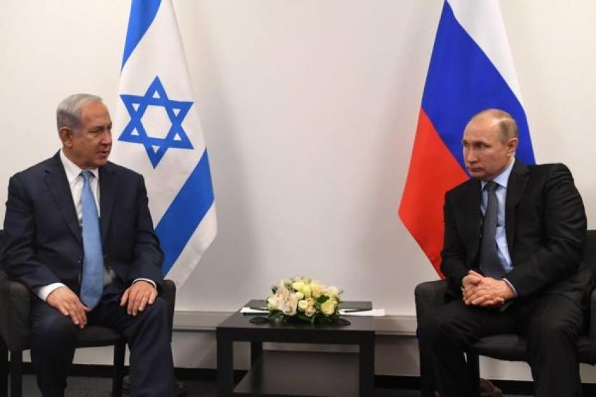 """""""Los jefes de la Inteligencia Militar y de la Fuerza Aérea israelí acompañarán a Netanyahu durante su reunión con Putin"""""""