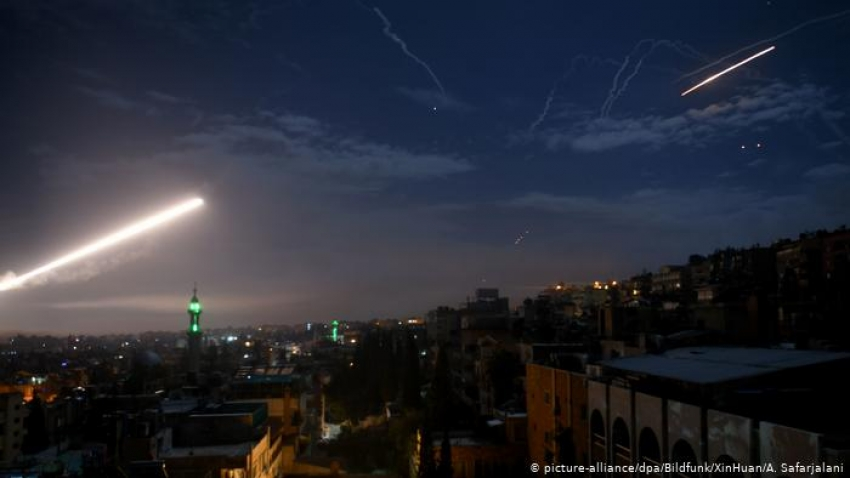 Siria acusa a Israel de un nuevo ataque con misiles cerca de Damasco