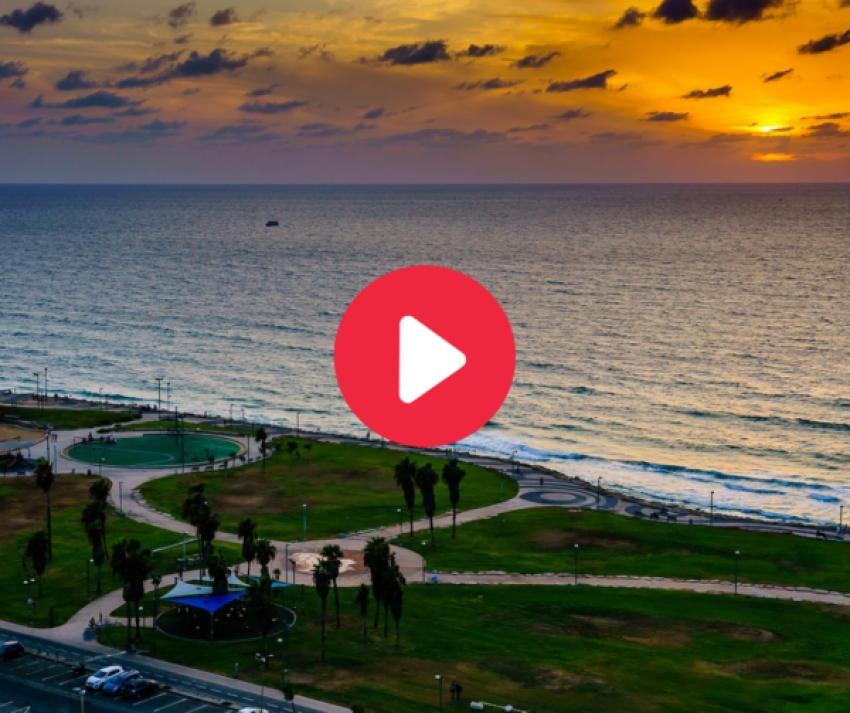 """VIDEO: Las """"postales"""" de Israel para Eurovision 2019 en los lugares más conocidos del país"""