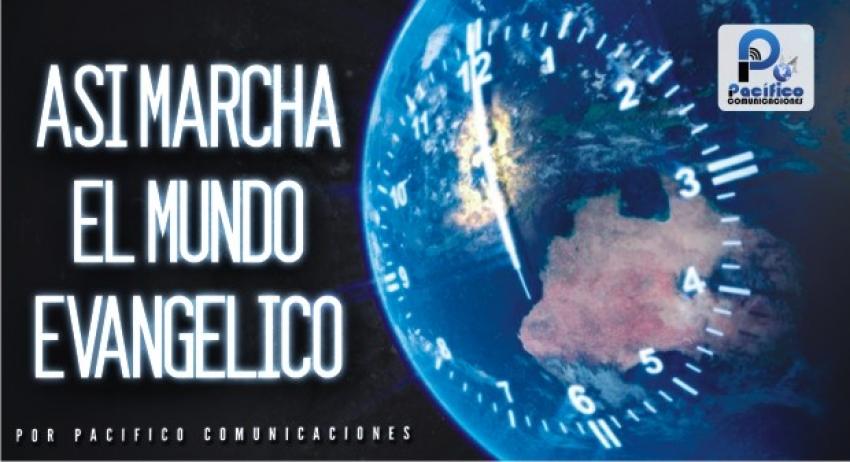"""Noticiero Cristiano """"Así Marcha el Mundo Evangélico"""" de Pacifico Comunicaciones."""