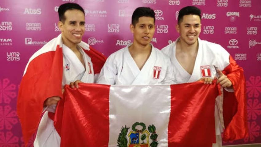 Perú ganó medalla de oro por equipos en kata en los Juegos Panamericanos