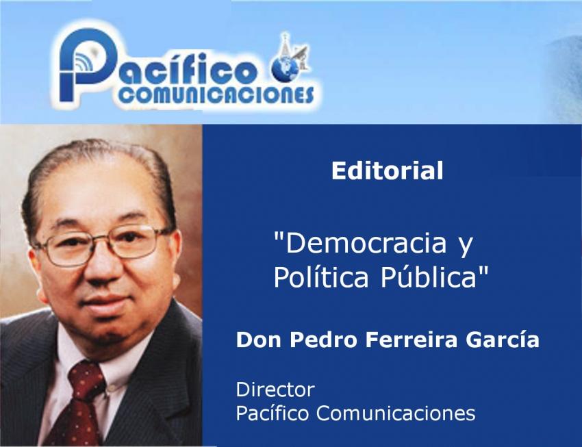 Democracia y Política Pública.